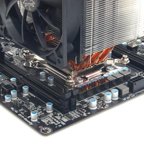 SCMG 3100 intel2011 1 Scythe kündigt drei Rev. B CPU Kühler für den Sockel LGA2011 an