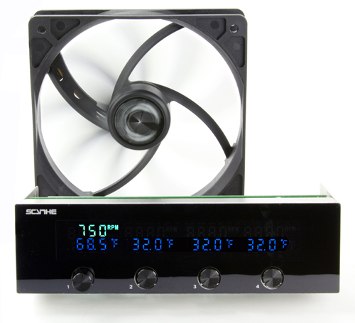 Scythe starts shipments of new Kaze Master II fan controller: CPU